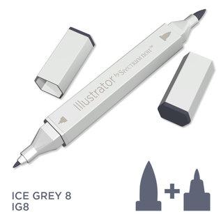 Spectrum Noir Illustrator - Ice Grey 8   IG8
