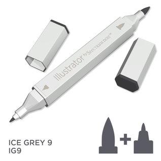 Spectrum Noir Illustrator - Ice Grey 9   IG9