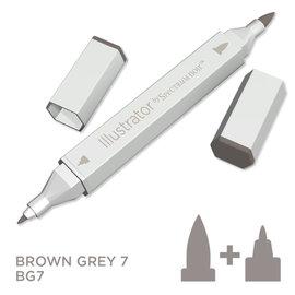 Spectrum Noir Illustrator - Brown Grey  7  BG7