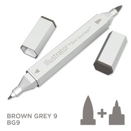 Spectrum Noir Illustrator - Brown Grey  9  BG9