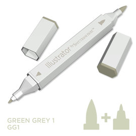Spectrum Noir Illustrator - Green  Grey  10  GG1