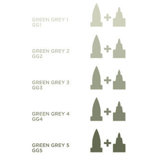 Spectrum Noir Illustrator - Green  Grey  10  GG1