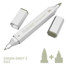 Spectrum Noir Illustrator - Green  Grey 2   GG2