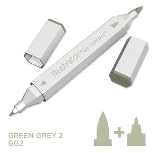 Spectrum Noir Illustrator - Green  Grey 2   GG2