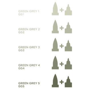 Spectrum Noir Illustrator - Green  Grey 3   GG3