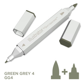 Spectrum Noir Illustrator - Green  Grey 4   GG4