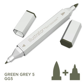Spectrum Noir Illustrator - Green  Grey 5   GG5