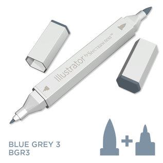 Spectrum Noir Illustrator - Blue  Grey 3   BGR3