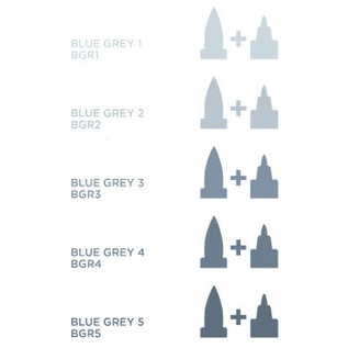 Spectrum Noir Illustrator - Blue  Grey 4   BGR4