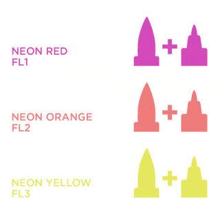 Spectrum Noir Illustrator - Neon Orange  FL2