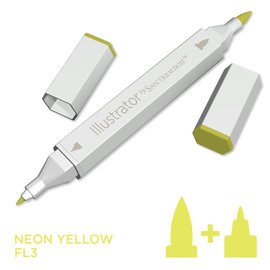 Spectrum Noir Illustrator - Neon Yellow  FL3