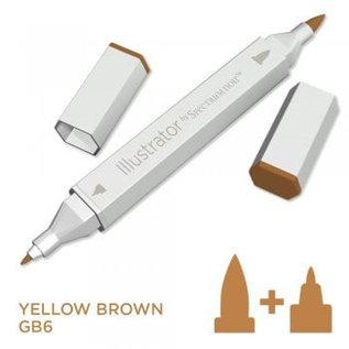Spectrum Noir Illustrator - Yellow Brown GB6
