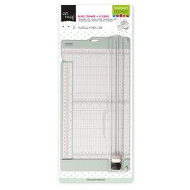 Vaessen Vaessen Creative • Papiersnijder met rilfunctie 15x30,5cm mint