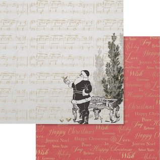 """Couture Creations Naughty Or Nice Double-Sided Paper 12""""X12"""" n° 02"""