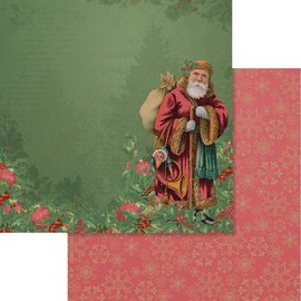 """Couture Creations Naughty Or Nice Double-Sided Paper 12""""X12"""" n° 05"""