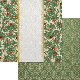 """Couture Creations Naughty Or Nice Double-Sided Paper 12""""X12"""" n° 06"""