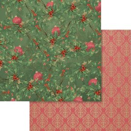"""Couture Creations Naughty Or Nice Double-Sided Paper 12""""X12"""" n° 07"""