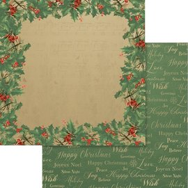 """Couture Creations Naughty Or Nice Double-Sided Paper 12""""X12"""" n° 10"""