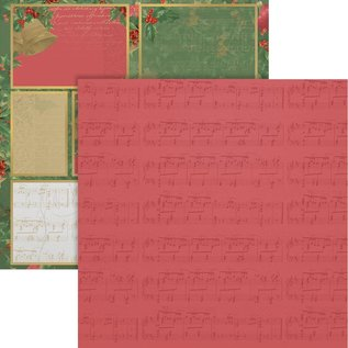 """Couture Creations Naughty Or Nice Double-Sided Paper 12""""X12"""" n° 12"""