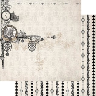 """Couture Creations n°02 Gentlemans Emporium Double-Sided Paper 12""""X12"""""""