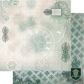"""Couture Creations n°03 Gentlemans Emporium Double-Sided Paper 12""""X12"""""""