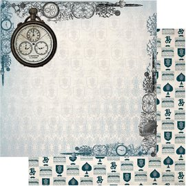 """Couture Creations n°05 Gentlemans Emporium Double-Sided Paper 12""""X12"""""""