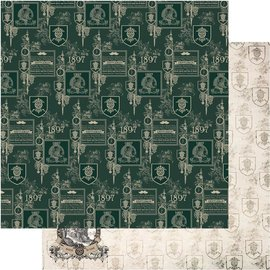 """Couture Creations n°09 Gentlemans Emporium Double-Sided Paper 12""""X12"""""""