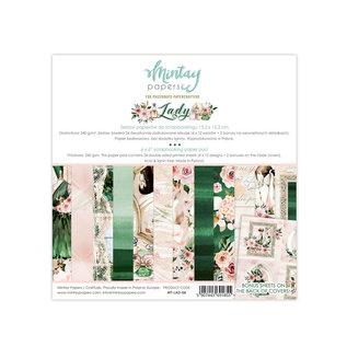 """Mintay """"Lady"""" 6x6    4x12 designs + bonus"""