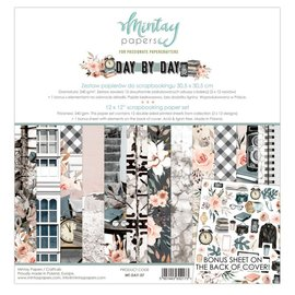 """Mintay Mintay """"Day by Day"""" 6x6  - 4 x 12 designs"""