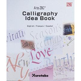 Kuretake A to ZIG Calligraphy Idea Book