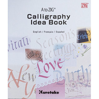 Kuretake A to ZIG Calligraphy Idea Book