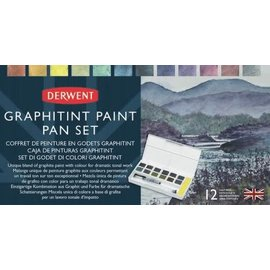 Derwent Derwent Graphitint Paint Pan Set