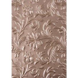 "Sizzix Sizzix 3D Texture Fades Embossing Folder By Tim Holtz    ""Botanical"""