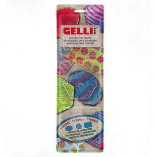 Gelli Arts -  Oval, Hexagon, & Rectangle