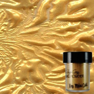 Wow Copy of Lindy's Stamp Gang Star Bright Gold Green Embossing Powder