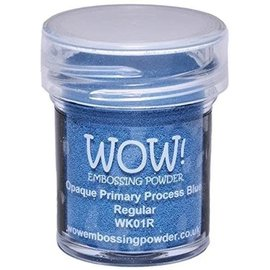 Wow Wow! Opaque Primary Process Blue