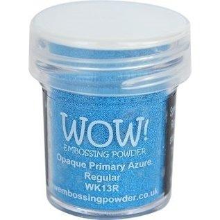 Wow Wow! Opaque Primary Azure Regular