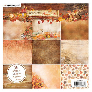 Studio Light Paper pad Wonderful Autumn, nr.150