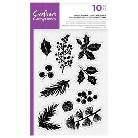 Crafters Companion Festive Foliage Clear Stamps