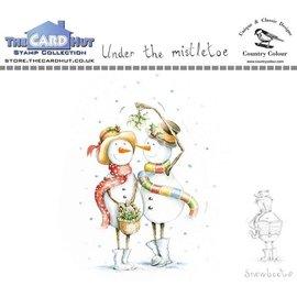 The Card Hut The Card Hut Snowboots: Under the Mistletoe