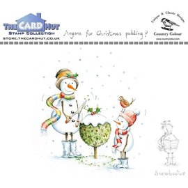 The Card Hut The Card Hut Snowboots: Anyone For Christmas Pudding