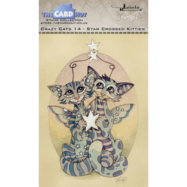 The Card Hut The Card Hut Crazy Cats Starcrossed Kitties Clear Stamps
