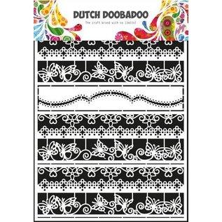 Dutch Doobadoo Dutch Doobadoo Dutch Paper Art randen 2 - A5