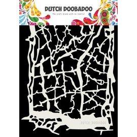 Dutch Doobadoo Dutch Doobadoo Dutch Mask Art Grunge lines A5