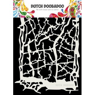 Dutch Doobadoo Dutch Doobadoo Dutch Mask Art Grunge lines A5
