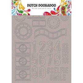 Dutch Doobadoo Dutch Doobadoo Greyboard Art Filmstrip A5