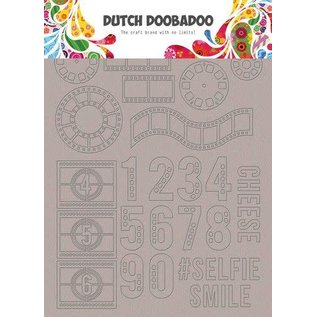 Dutch Doobadoo Dutch Doobadoo Greyboard Art Filmstrip A5