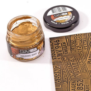 CoosaCrafts COOSA Crafts • Gilding wax metal goud 20ml