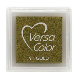 Tsukineko VersaColor inkpad 3x3cm gold