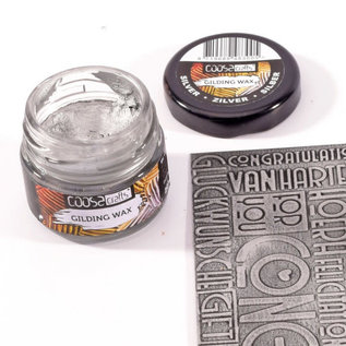 CoosaCrafts COOSA Crafts • Gilding wax metal zilver 20ml